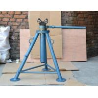 Mechanical cable reel stand cable drum jack