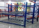 Customized Plastic Carton Flow Rack Roller Sliding Shelves For Garage Storage