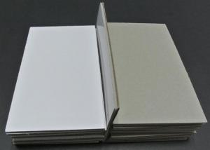 Quality Solid Paper / Notebook Cover Laminated Grey Board 5.0mm Grey Board with Foam for sale