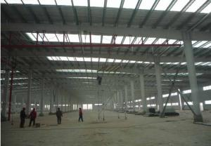 China steel structure building skylight prefab warehouse shed on sale