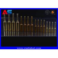 Sterial Bulk Glass Vials Amber Ampoule Intramuscular Injection Bottle 2ml Glass Vials 1ml Amp / 2ml Amp / 10ml Amp