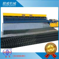 PVC Wire / High Carbon Wire Automatic Chain Link Fencing Machine ISO9001 Certification