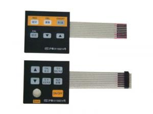 China PET Metal Dome PCB Membrane Switch , Flexible Printing Membrane Touch Switch on sale
