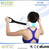 China GLADESS Electric Neck And Shoulder Massager Belt Shiatsu Heating Neck Massager on sale
