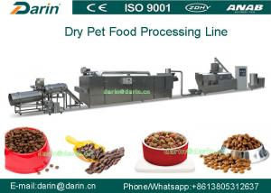 China Twin - screw Pet Food Extruder machine / food extrusion equipment on sale