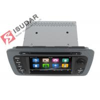 Classic Sepecial Frame 6.2 Inch Seat Ibiza Dvd Player , Car Dvd Multimedia Player 3G