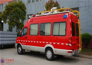 China IVECO Chassis Command Fire Trucks Gross Weight 4000kg For Buliding Fire Fighting on sale