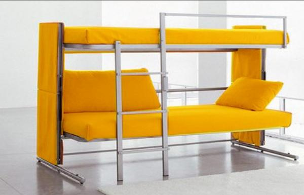 Double Decker Sofe Bed Transformable Sofa Bed For Small Appartment