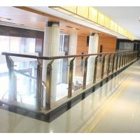 China stainless steel glass handrail glass balustrade balusters/post/column/pillar on sale