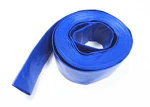 China High Pressure Pvc Layflat Hose Coriaceous Softness 25- 408mm Inner Diameter on sale