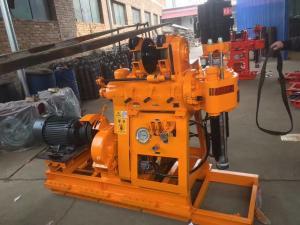 China 150m Depth Underground Portable Borehole Rotary Drilling Rig Machine on sale