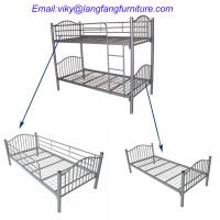 detachable antique metal bunk bed (BED-M-09)