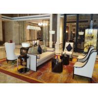 4 Star 5 Star Waiting Area Hotel Lobby Furniture  High Standard Environment - Friendly