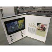 Custom design 7inch screen size lcd video printing card video marketing  brochure video business card in Saudi Arabia