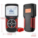 12V Vehicles Car Obd2 Diagnostic Tool Obd 3 Scaner Gps KONNWEI KW820 EVAP System