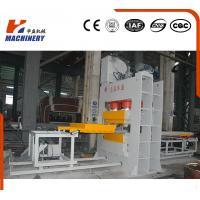 Durable Single Venner Overhead Mold Press Machine / Presswood Pallet Machine