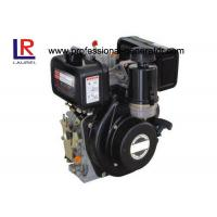 Single Cylinder Industrial Diesel Engines Anticlockwise Recoil / Electric Starter