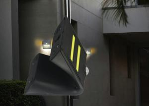 China IP65 Solar Outdoor Motion Detector Lights , Motion Activated Solar Led Light Wall Mounted on sale