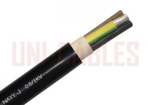 China Electric Plants PVC Insulated Power Cable , NAYY J Aluminum Conductor Cable on sale