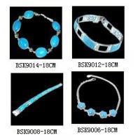 Brass Jewelry Genuine Stone Bracelet (BSK9014-18CM)