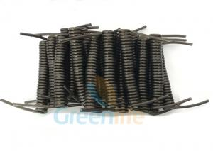 China Innovative Stainless Steel Wire Black Stretchy Coil Strap Ready For DIY Assembly on sale