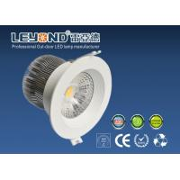Anti - Glare Lens Beam10 / 24 / 90 Degree Cree Led Downlight Dimmable 12w