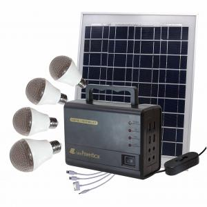 China Outdoor Camping Solar Panel Light Bulb Kit  325×225×18 Mm 3KG Weight on sale