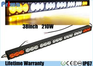 China 38 210W Cree Led Light Bar Amber White Sopt Flood Straight Off Road Truck 4WD on sale