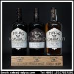 Ledpos Wooden Teeling Three Bottle Glorifier