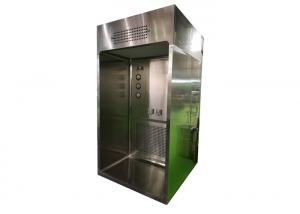 China Epoxy Coated Mild Steel Dispensing Booth / Class 100 Laminar Airflow Chamber on sale