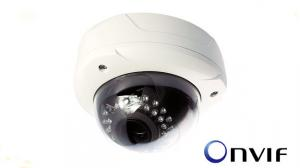China 720P color CMOS Vandal Proof Dome Camera Mobile detection , video shielding on sale