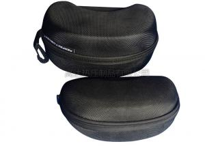 China Protective EVA Glasses Case Hard Shell / Mens Eyeglass Cases Hard Velvet Inner Lining on sale