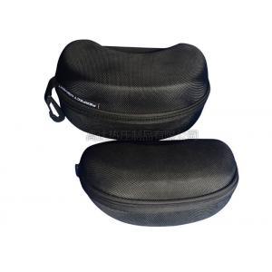 China Protective EVA Glasses Case Hard Shell / Mens Eyeglass Cases Hard Velvet Inner Lining on sale