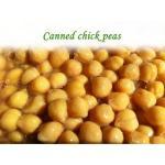 Os grãos-de-bico enlatados/enlataram feijões/grãos-de-bico estanhados