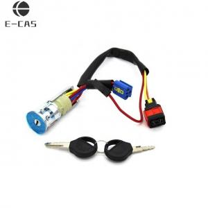 China Silvery Color Auto Parts Ignition Switch , Peugeot Ignition Switch OEM on sale