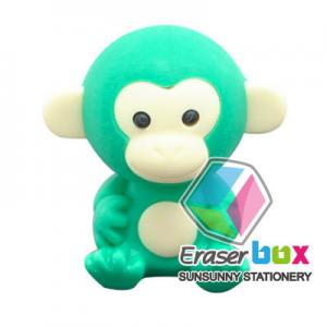 China SEA043 Monkey shaped animal TPR cartoon eraser, animal shaped erasers (OEM) on sale