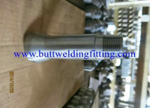 China ASTM B564 UNS N06690 Socket Weld Reducing Tee , Nipple , Hex Head Plug ANSI B16.11 on sale