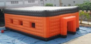 China promotion inflatable cube event tent with custom printing on sale