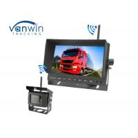 Wide Screen TFT Car Monitor Night Vision With Long Transmission Distance