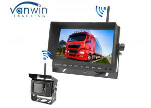 China Wide Screen TFT Car Monitor Night Vision With Long Transmission Distance on sale