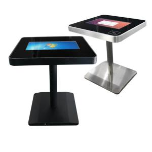 China Metal Frame Lcd Touch Screen Table , 22 Inch Touch Screen Coffee Table on sale