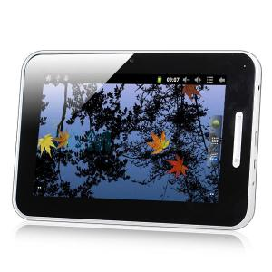 China 7 inch google android 2.3 Allwinner A10 1.5GHz bluetooth dual camera tablet pc on sale