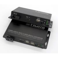KVM(HDMI+USB) to fiber converter,KVM over fiber extender,HDMI with USB to fiber transmitter and receiver