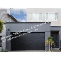 China Modern Concept Well Insulated Sectional Garage Doors Easy To Operate Electrically Or Manually on sale