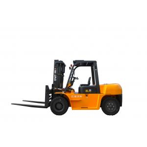 Large Capacity 7 Ton JAC Diesel Forklift Truck Small Turning Radius CE Certification