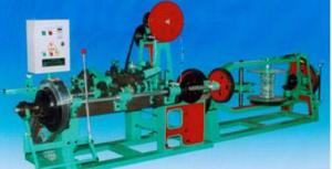 China Twofold Straight Twistin g and Reverse Twisting BArbed Wire Machine on sale