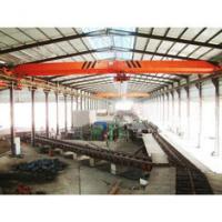 Warehouse Single Beam Overhead Crane Electric Motors 20 Ton With 7.5-32m Span