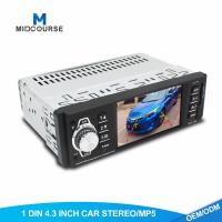 China Universal Single Din Navigation Head Unit  4.1 Inch Screen Car MP5 Player With Bluetooth on sale