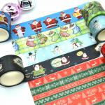 Decorative Christmas Washi Tape