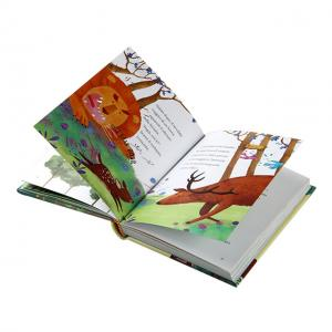 China Hardcover A4 Gloss Varnishing Story Book Printing for kids on sale